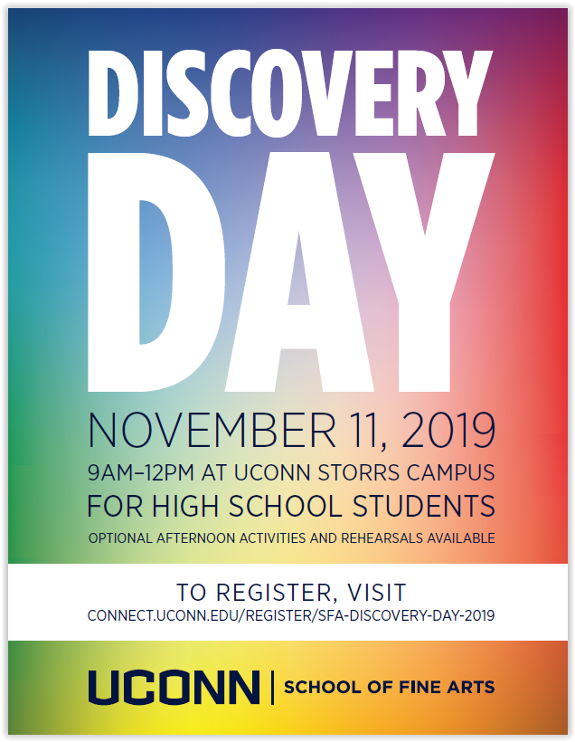 School of Fine Arts Discovery Day